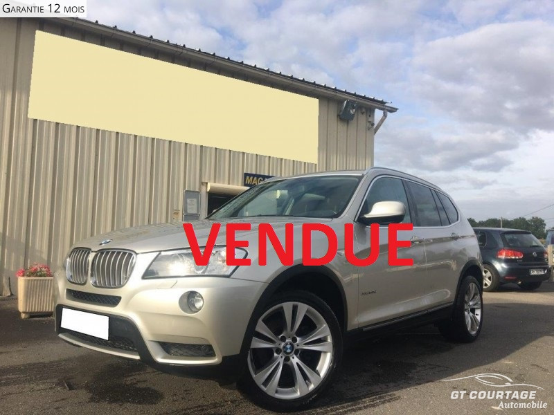 BMW X3 (f25) XDRIVE30DA 258CH EXCELLIS ABSOLUTE EDITION