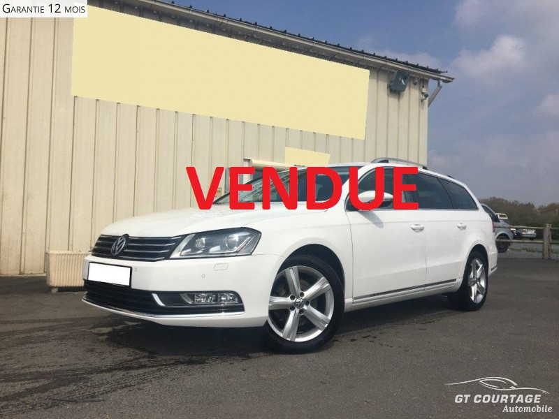 Volkswagen Passat SW 1.6 TDI 105CH BLUEMOTION TECHNOLOGY FAP DESIGN EDITION