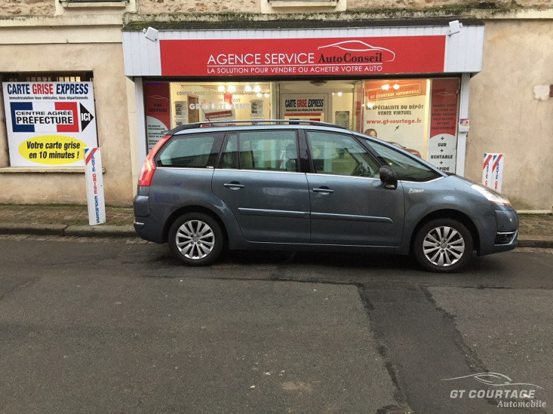 Citroën Grand C4 Picasso 2.0L HDI 138 CV FAP Exclusive BMP6 7 Places