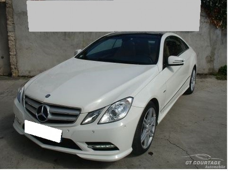 Mercedes CLASSE E 4 COUPE IV COUPE 350 CDI BLUEEFFICIENCY EXECUTIVE 7G-TRONIC PLUS