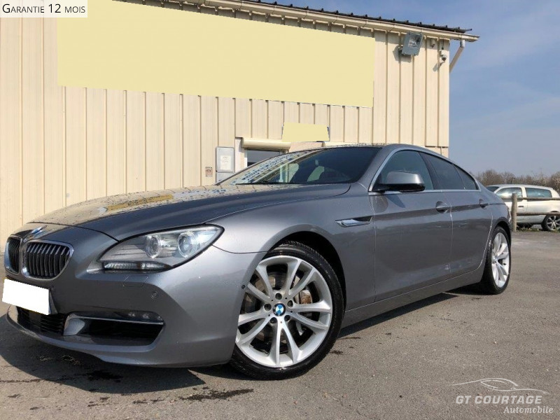BMW SERIE 6 F06 GRAN COUPE GRAN COUPE 640D XDRIVE 313 EXCLUSIVE INDIVIDUAL BVA8