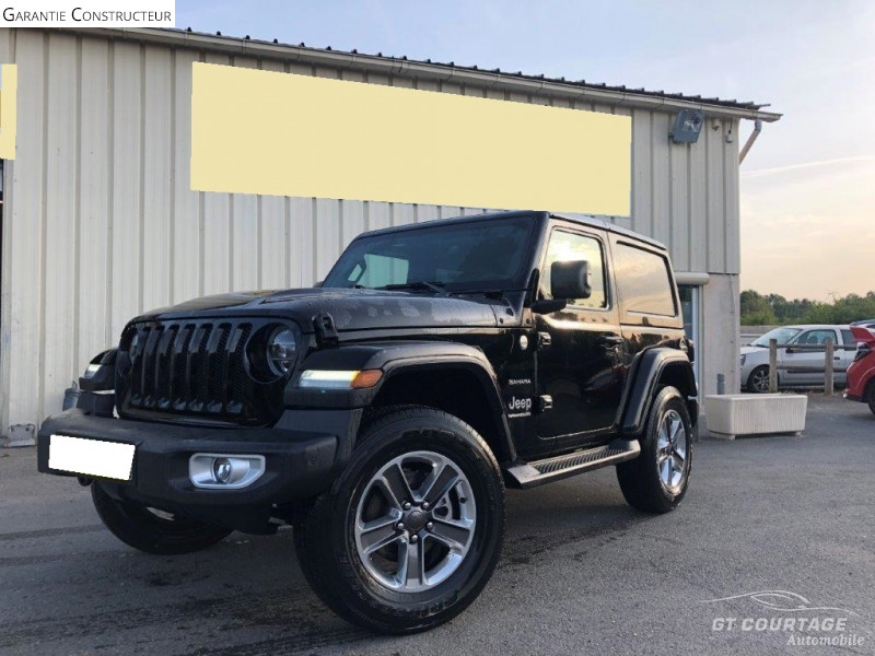 Jeep Wrangler 2.0 T 272CH UNLIMITED SAHARA COMMAND-TRAC